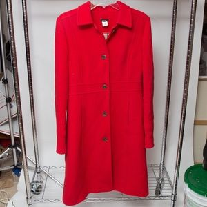 Tall double-cloth lady day coat w/ Thinsulate 10T